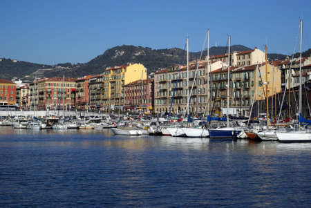 Port of Nice in France photo