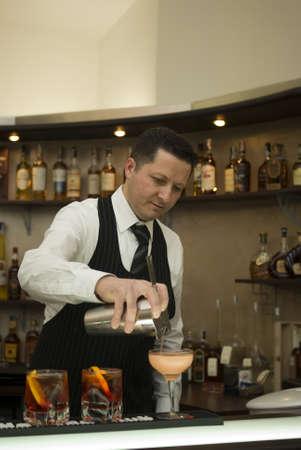 barman: Barman Stock Photo