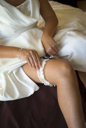 Wedding garter photo