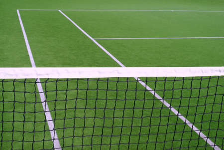 lawn tennis: Resort tennis club and tennis courts