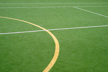 School sports field photo