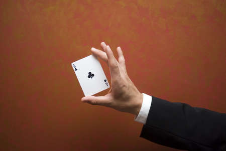 deceiving: Magic card trick