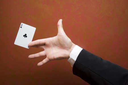 Magic-kaart truc