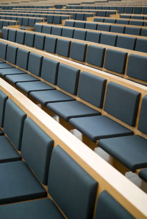 Seats in a conference room photo