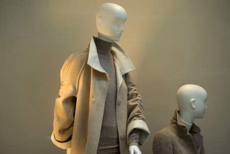 artificial lights: Fashion store