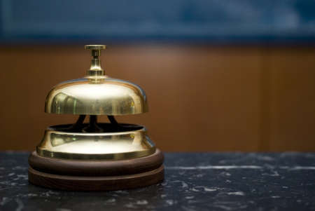 hotel staff: Hotel service bell