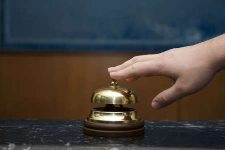 Hotel service bell Stock Photo - 11487653