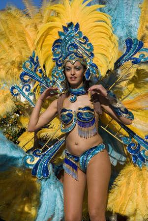 Carnaval de bailarina Foto de archivo