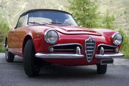 italian car: Vintage car