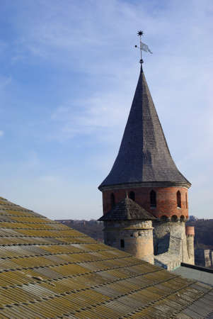 Tower of medieval fortress Stock Photo - 17111037