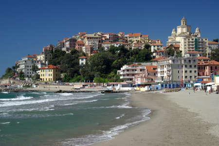 City of Imperia, Liguria, Italy