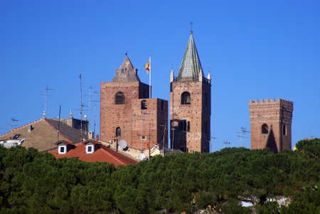 Albenga. The medieval village of Liguria, Italy Stock Photo - 12937565