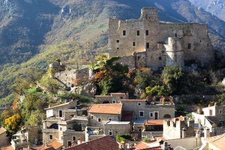 Castelvecchio di Rocca. Ancient village of Italy Stock Photo - 12937902
