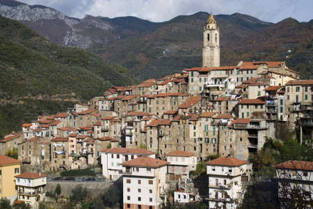 Castelvittorio. Ancient village of Italy Stock Photo - 12937760