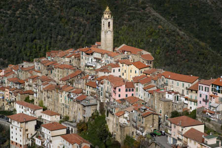 Castelvittorio  Ancient village of Italy Stock Photo - 12937759