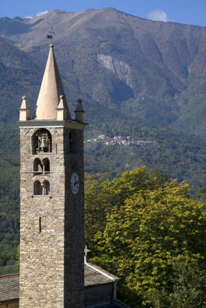 Romanesque bell tower 12th century photo