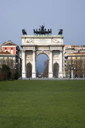 Arch of Peace, Milan photo