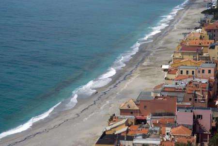 Varigotti. Tourist destination in Italy Stock Photo - 13033589
