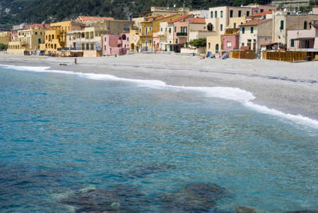 Varigotti. Tourist destination in Italy Stock Photo - 13033591