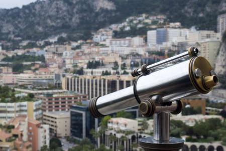 Coin operated binoculars photo