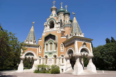 St  Nicholas  Russian Orthodox Cathedral in Nice
