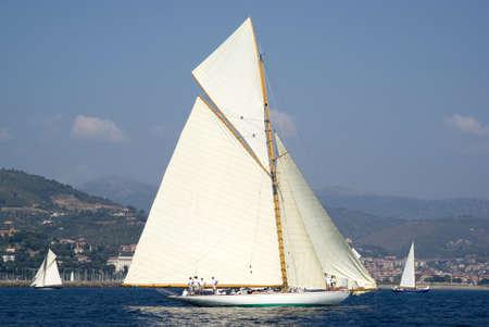 Old sailboat