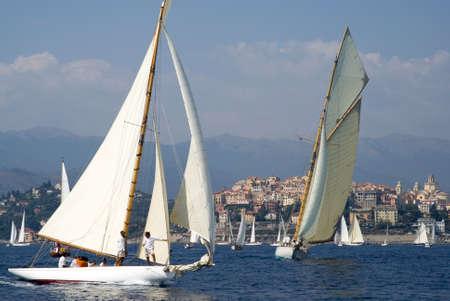 yacht race: Yate tradicional regata