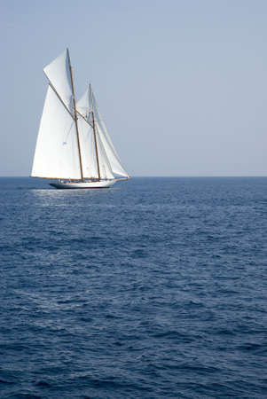 Old sailboat photo