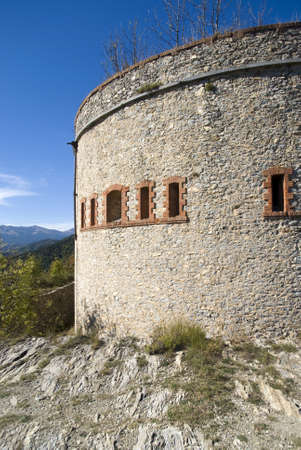 fortification: The old military fortification in Alps