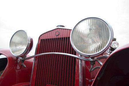 italian car: Old car Editorial
