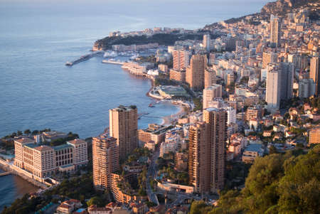Monaco in the sunrise light Stock Photo - 16820876