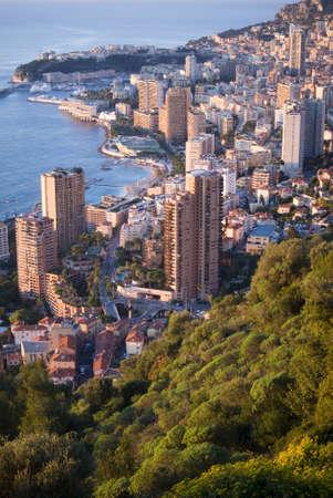 Monaco in the sunrise light  Stock Photo - 16820857