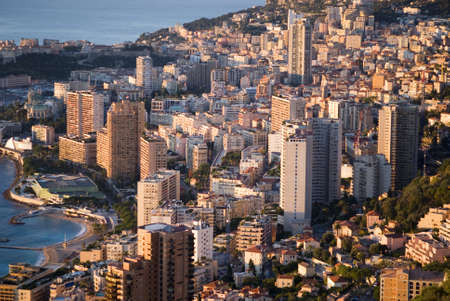 Monaco in the sunrise light  Stock Photo - 16820870
