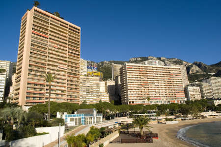Monte Carlo skyscrapers Stock Photo - 16821241