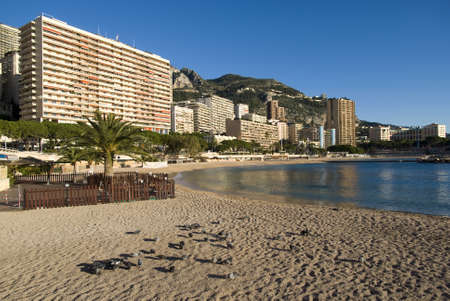 Monte Carlo: the Larvotto beaches Stock Photo - 16820763