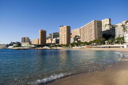 Monte Carlo: the Larvotto beaches Stock Photo - 16855390