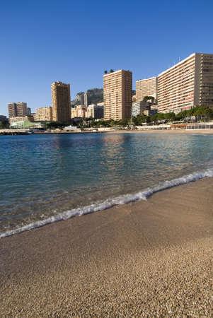Monte Carlo: the Larvotto beaches Stock Photo - 16855391