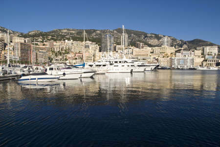 Port Hercules in the Principality of Monaco  Stock Photo - 16855385