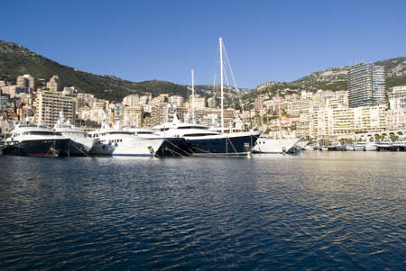Port Hercules in the Principality of Monaco  Stock Photo - 16855387