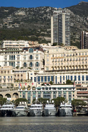 Monte Carlo and the Port Hercules photo