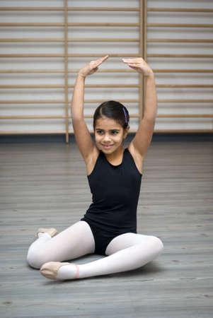 Ballerina posing Stock Photo - 17010455