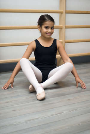 Student in dance class photo