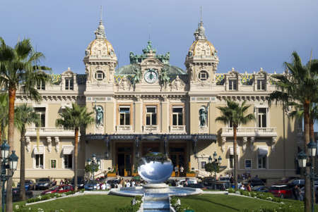 Principality of Monaco – July 28, 2011: Famous Casino in Monte Carlo