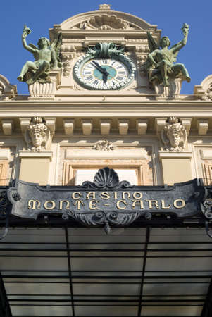 Principality of Monaco � August  25, 2011: Famous Casino in Monte Carlo