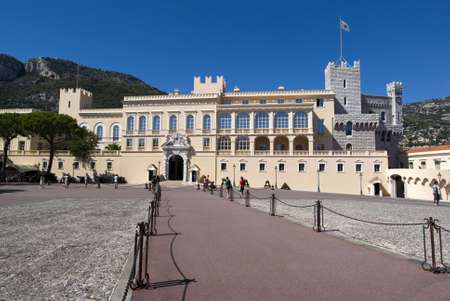 principality: Principality of Monaco � September  13, 2012:  Princes Palace Editorial
