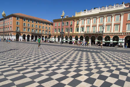 Nice, France � July 30, 2012: Central Square - Place Massena