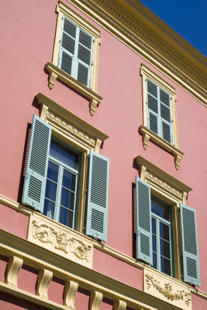 Nice, France � July 30, 2012: The picturesque architecture in Place Massena  Stock Photo - 17227978