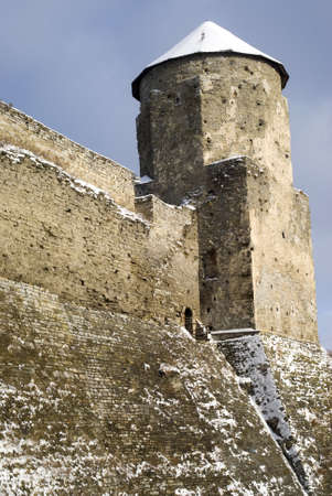 Kamyanets-Podilsky, Ukraine � January 15, 2012:  The medieval fortress Stock Photo - 17227989