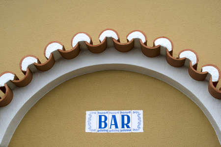 Bar sing in Portugal photo