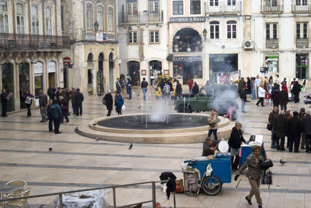 Coimbra, Portugal � November 25, 2010: The city an important touristic destination Stock Photo - 17249549